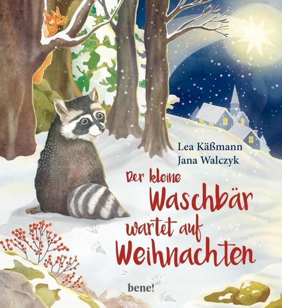 Der kleine Waschbär wartet auf Weihnachten von Lea Käßmann