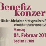 Ansprache beim Benefizkonzert der Niedersächsischen Krebsgesellschaft e.V.